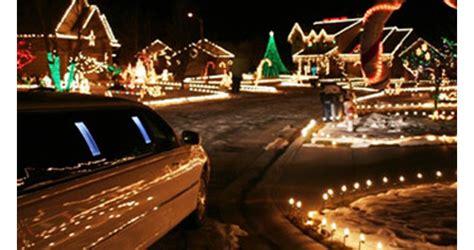 holiday limo lights tour orange county