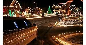Party Light Christmas Holiday Limo Lights Tour Orange County