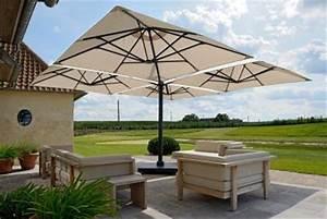 Parasol De Terrasse : parasol haut de gamme d port parasol excentr parasol haut de gamme terrasse grand parasol ~ Teatrodelosmanantiales.com Idées de Décoration