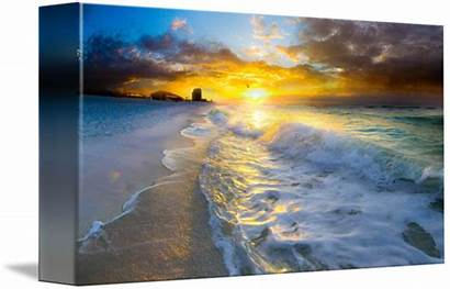 Landscape Sunrise Beach Eszra Tanner
