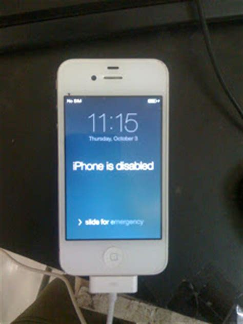 how to undisable an iphone without itunes iphone disabled iphone is disabled How T