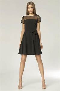 les robes simples noir With robe pie