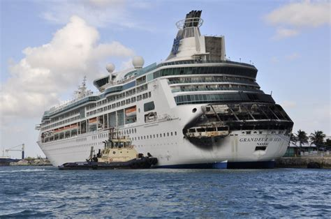 Hereu0026#39;s What A Royal Caribbean Cruise Ship Looked Like After A 2-Hour Fire - SFGate
