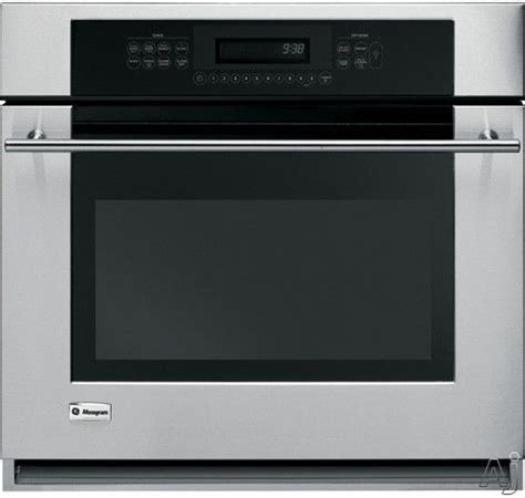 monogram zetsmss   single electric wall oven   cu ft reverse aireuropean