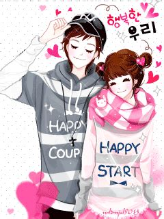 anime korean couple anime korean couple 3 anggreyanifauzi