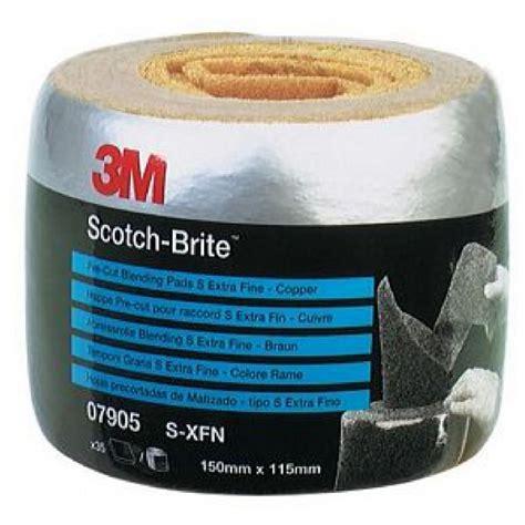 scotch brite pre cut rolls copper extra fine