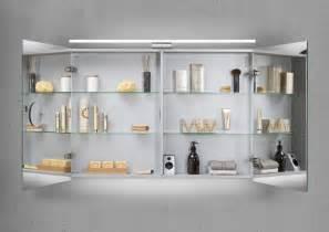 design spiegelschrank bad spiegelschrank bad 100 cm led beleuchtung doppelseitig verspiegelt 1202