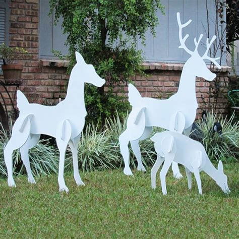 search christmas reindeer lawn decorations