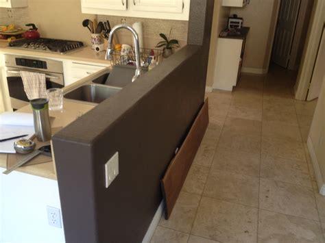 installing walnut countertop  knee wall woodwebs