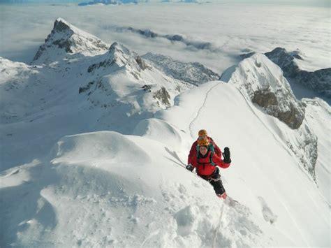 triglav winter climb vertigo