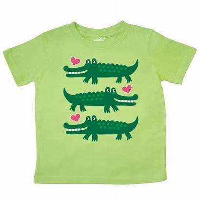 Crocodile Alligator Shirts Homewiseshopperkids Toddler Reptile Lime