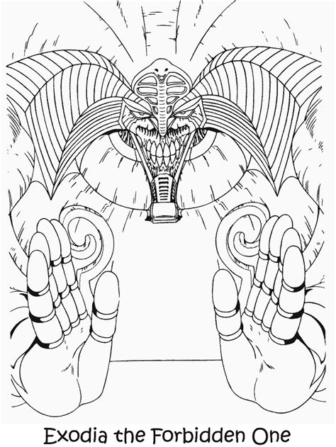 yugioh  coloring pages coloring page book