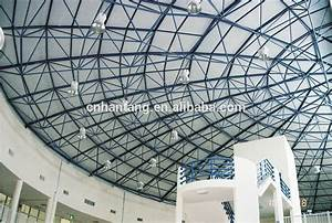 Dome Supermarket Steel Space Frame Structure Roof System ...