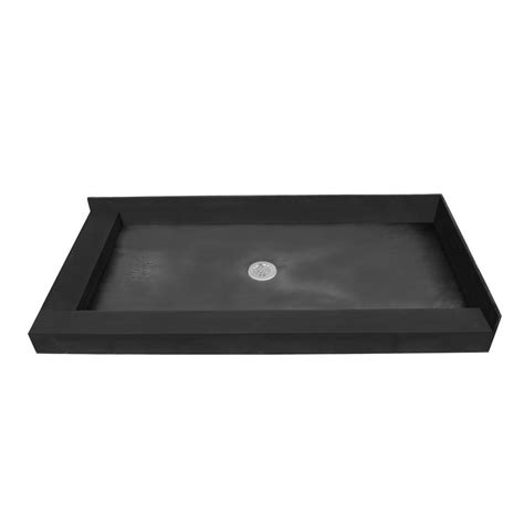 tile redi shower pan home depot tile redi 42 in x 66 in single threshold shower base
