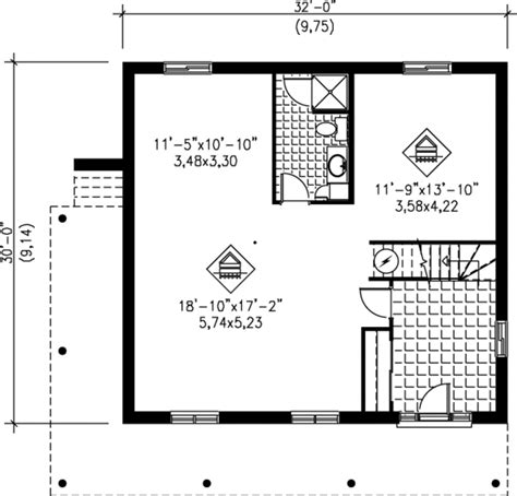 modern  beds  baths  sqft plan