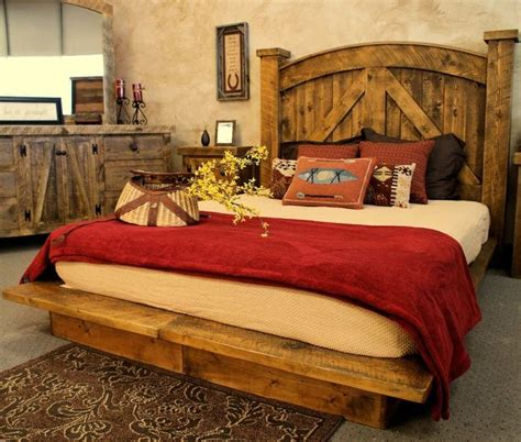 rustic chic master bedroom western rustic bedroom furniture ideas for the house 17015 | 8720fe44c1ea524b29c3e52f768a33ef