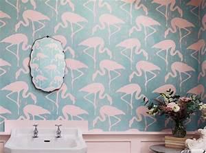 Papier Peint Japonisant : flamants roses fond d 39 cran flamant and roses on pinterest ~ Premium-room.com Idées de Décoration