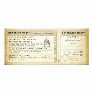 ship boarding pass wedding tickets invites rsvp With cruise boarding pass wedding invitations with rsvp