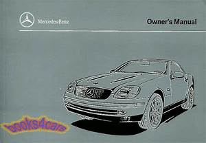 Slk230 Owners Manual Mercedes 1998 Book Drivers Handbook