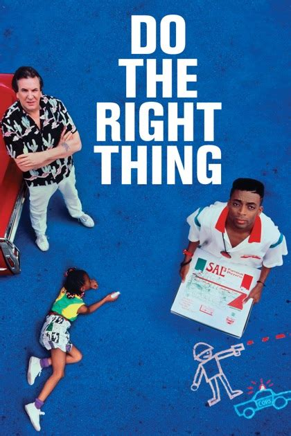 the right thing do the right thing itunes