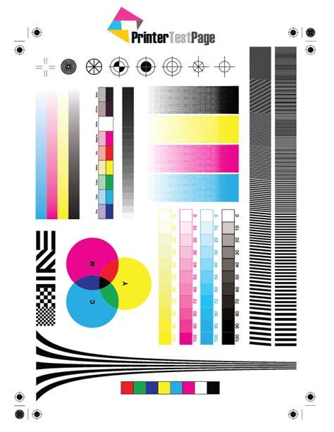 Print Color Or Black & White Test Pages Printertestpageorg