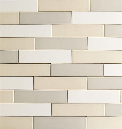 our 2x8 modern ceramic subway tile clayhaus for modwalls in 24 colors to mix and match milk