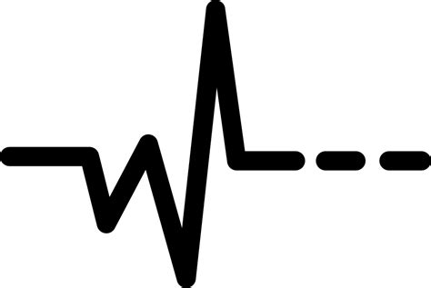 Heartbeat Svg Png Icon Free Download (#426427 ...