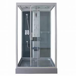 Cabine De Douche 90x120 : cabine de douche rectangulaire catania hydromassante ~ Edinachiropracticcenter.com Idées de Décoration