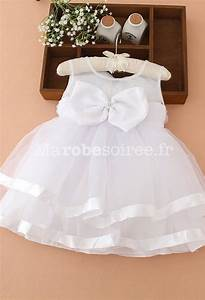 robe bebe petite fille blanche bapteme With robe pour bapteme fille