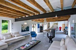 loveisspeed inspiring barn conversion in burgundy With interior design ideas for barn conversions