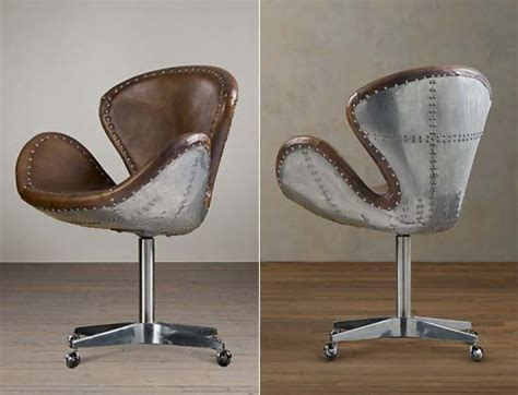 Restoration Hardware Aviator Desk Chair by Garagemahals Restoration Hardware S Aviator Wing Desk Is