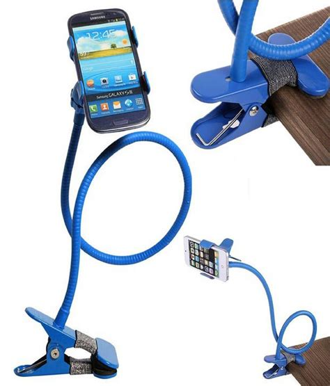 universal arms lazy bed desktop car mobile phone holder stand black colour