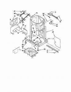Kitchenaid Kucs03ctss2 Trash Compactor Parts