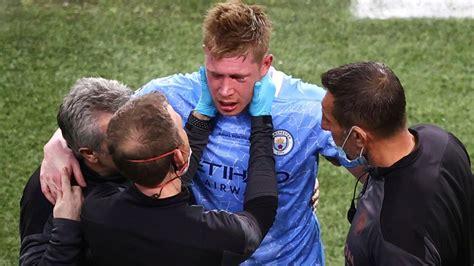 Kevin De Bruyne: Manchester City midfielder fractured nose ...