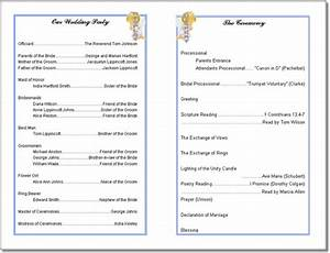 Church program template peerpex for Free printable church programs