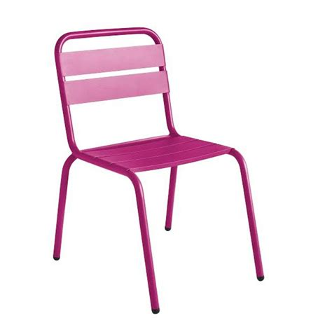 chaise colorée chaise de jardin design visalia colorée par drawer fr