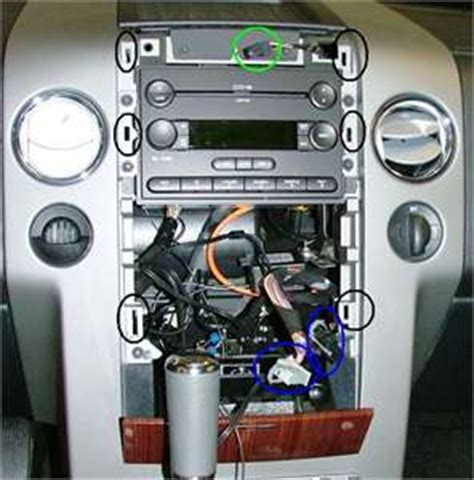 Ford F 150 Wiring Harnes Clip by 2004 Ford F150 Remove Dash Panel Around Radio Questions