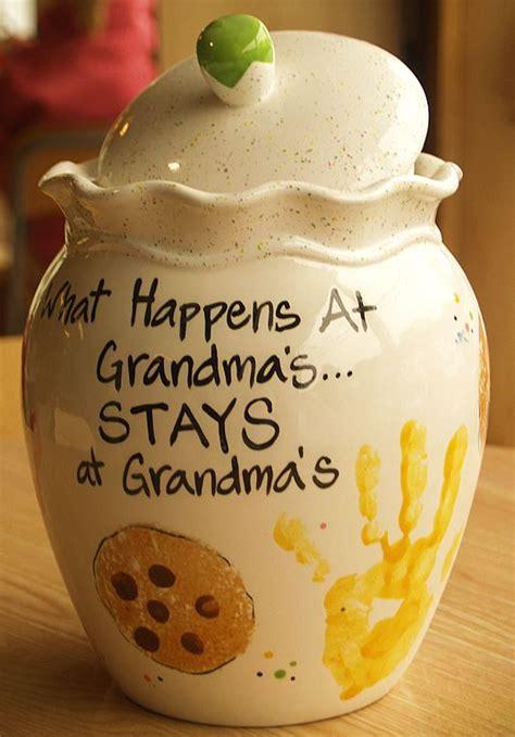 grandmas cookie jar gift craft  grandparents