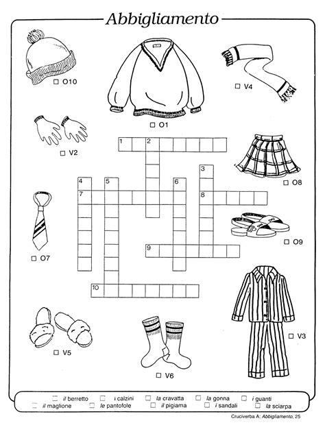 cruciverba illustrati per bambini da stare soleil publishing italian books parole crociate