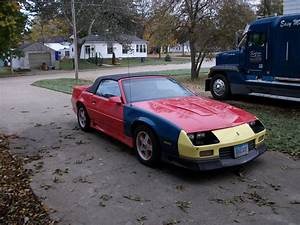 Iowa 91 Camaro Z28 Convertible