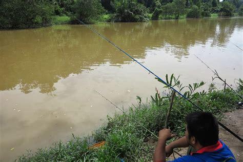 cinta   satu memancing udang galah  sungai timun negeri sembilan