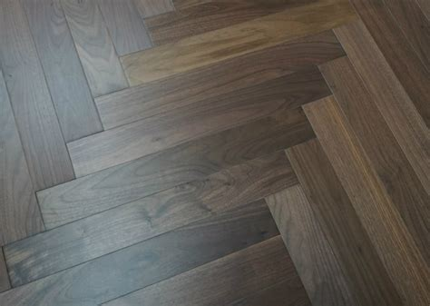 walnut herringbone pattern flooring ( esp. American walnut