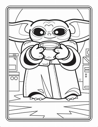 Yoda Coloring Printable