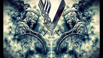 Vikings Ragnar Wallpapers Lodbrok Wardruna Season Kattegat