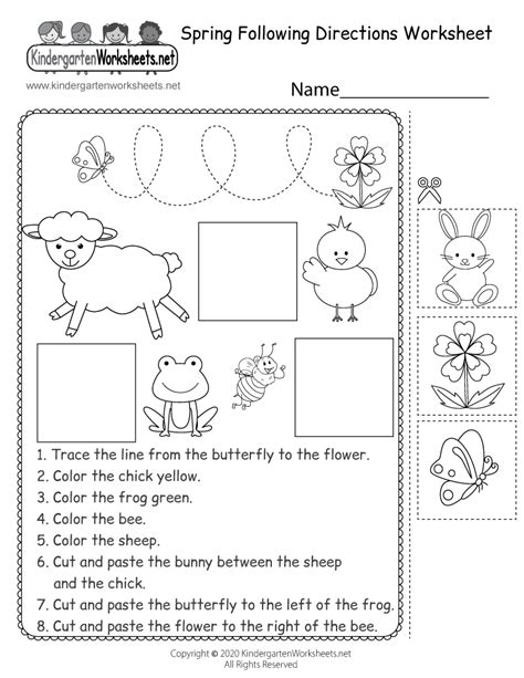 search results   directions worksheet