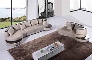 Canapé 6 Places Convertible : ensemble canape cuir salon yema 4 2 canape cuir 6 ~ Teatrodelosmanantiales.com Idées de Décoration