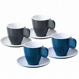 Tasse À Café Avec Support : camp4 tasses caf expresso m lamine pour camping car ~ Melissatoandfro.com Idées de Décoration