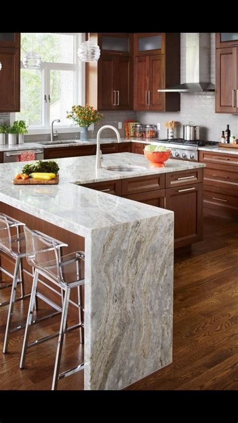 kitchen island countertop cubiertas de marmol blanco carrara whatsapp 442
