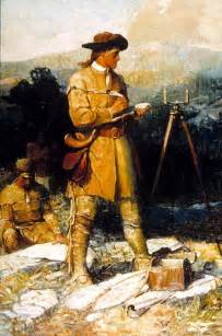Young George Washington Surveyor