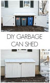 the 25 best garbage can storage ideas on pinterest